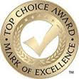 Top Choice Awards - Mark of Excellence